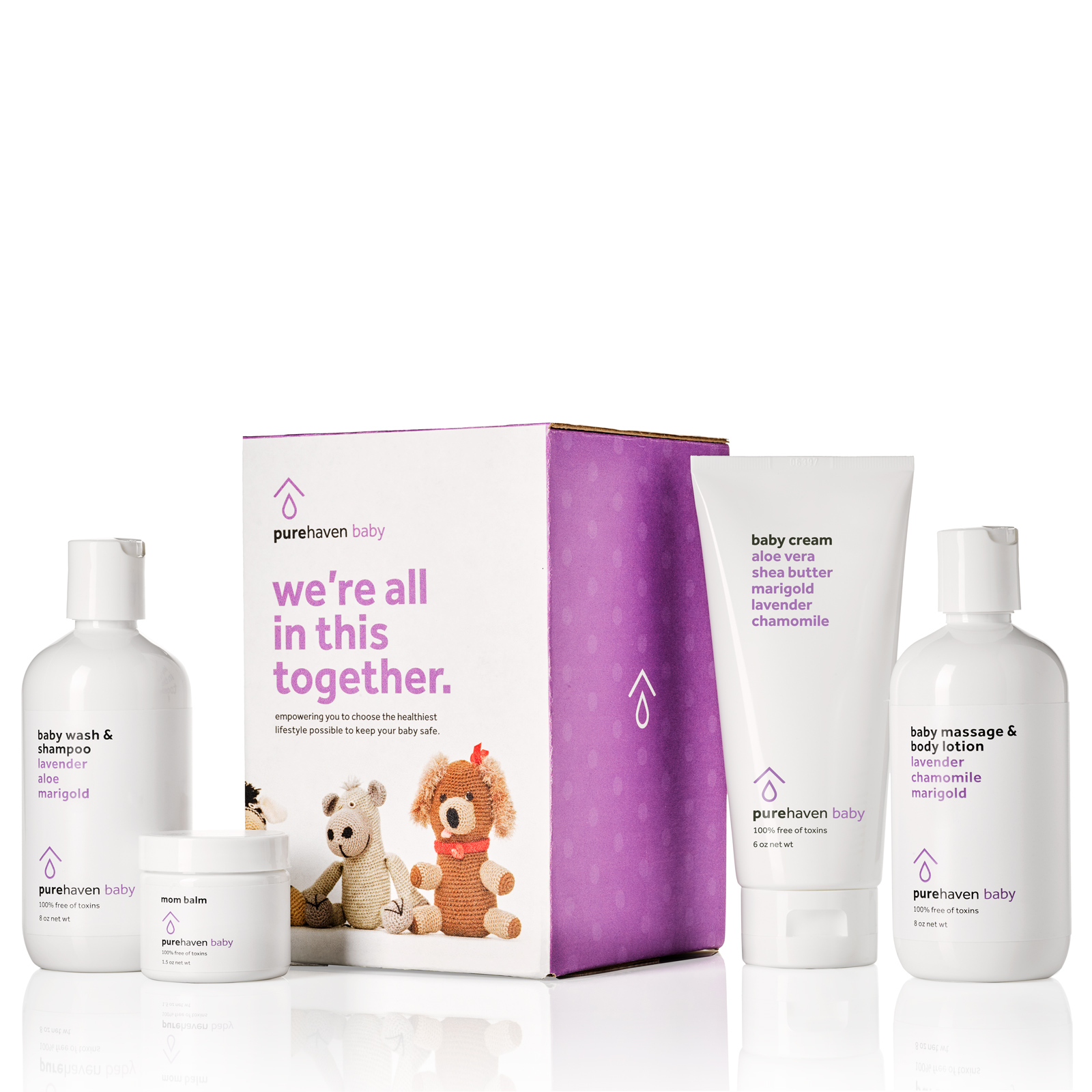 4-Piece Baby Care Set